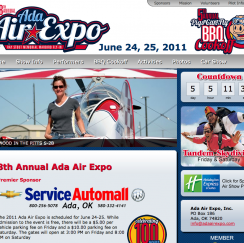 Ada Air Expo Website