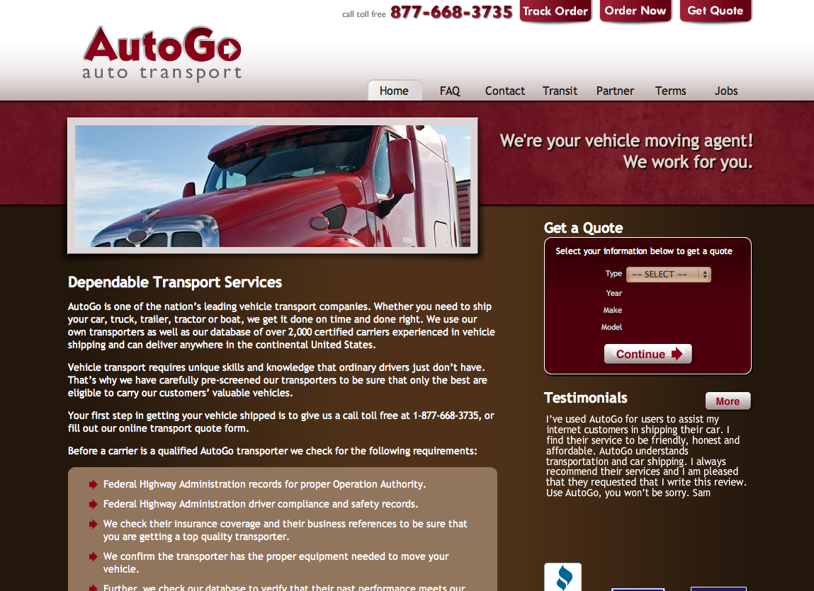 AutoGO Web Design