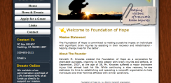 Foundation of Hope Web Design