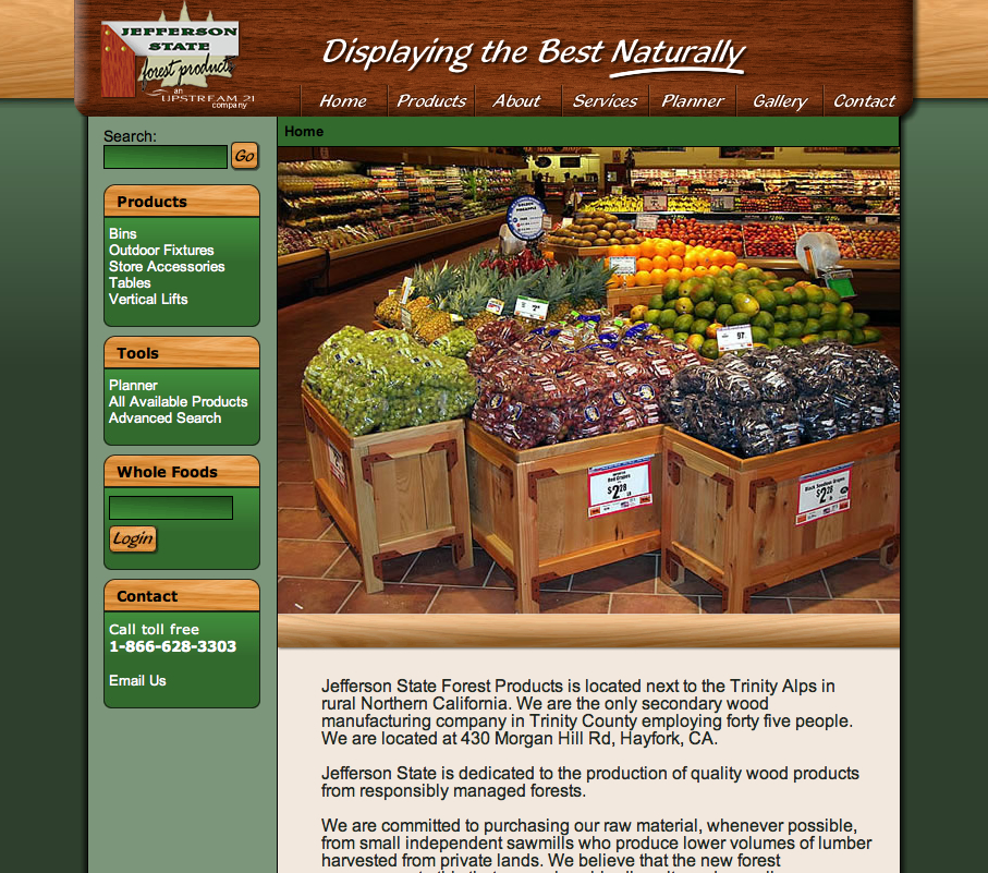 Jefferson State Web Design