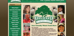 Orchard Nutrition web development