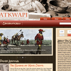 Palatkwapi blog design