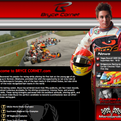 bryce cornet website design