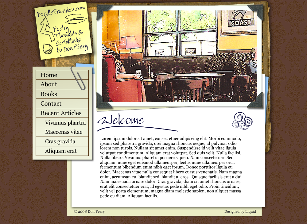 Don Peery's Blog Web Design