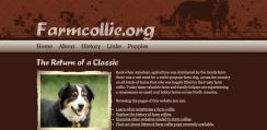Farm Collie Web Design