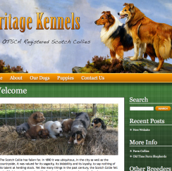 heritageHeritage Web Design Project