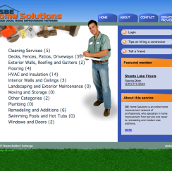 SBE Home Solutions Web Development