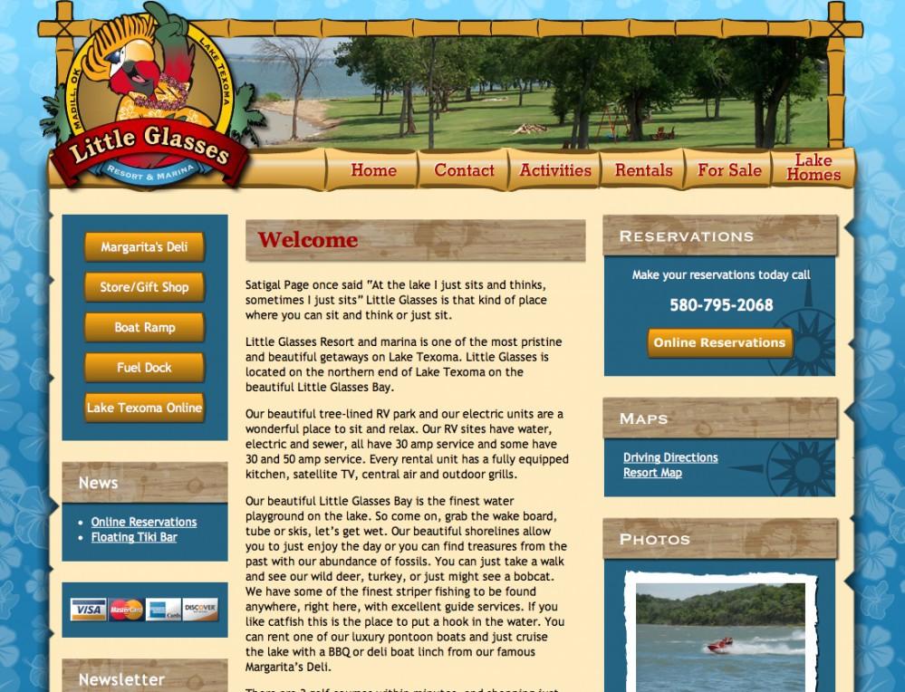 Little Glasses Website