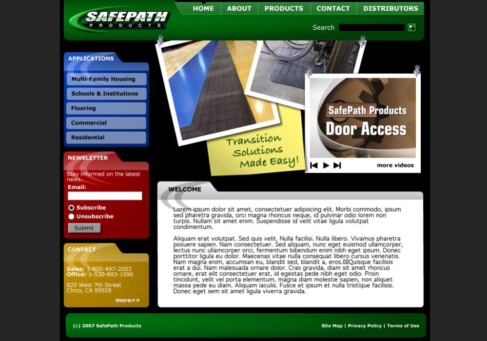 Safepath Web Design