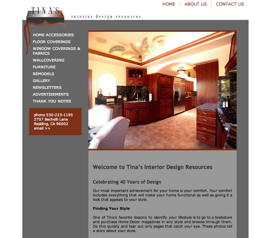Tina's Web Design