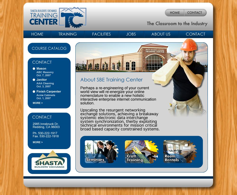 SBE Training Web Design