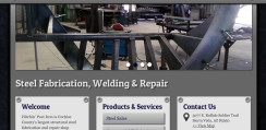 Hitchin Post Iron Web Design