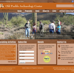 Old Pueblo Archaeology's new website